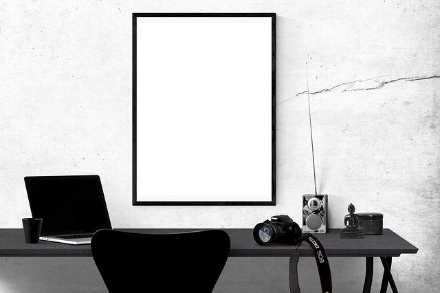 cadre photo mural